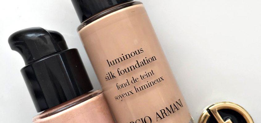 Една рецепта за невероятен тен… Luimonus Silk и Fluid Sheer на Giorgio Armani