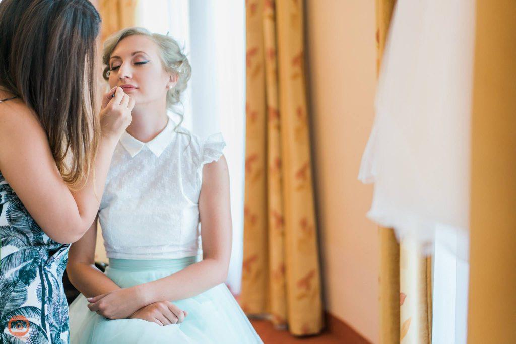 Сватбен грим за булки.