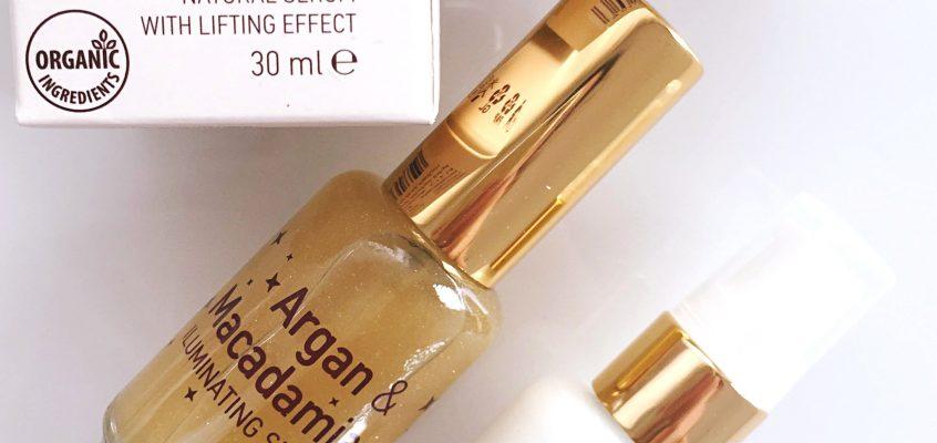 Argan & Macadamia Illuminating Elexir и Serum with Lifting Effect.
