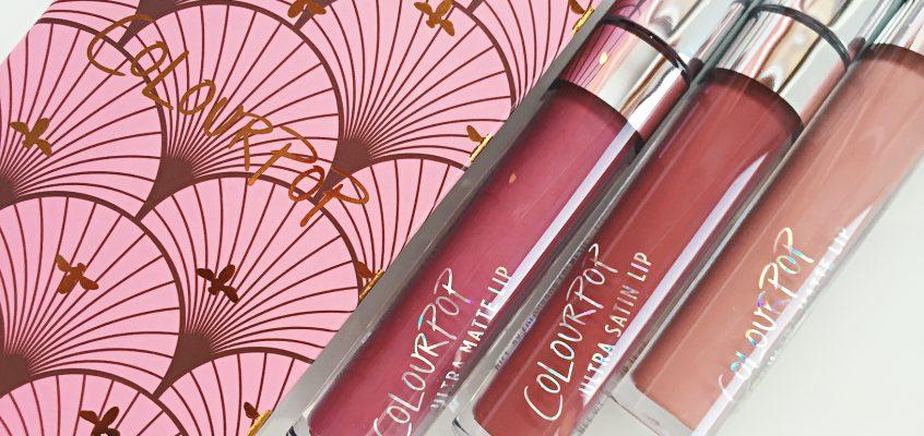 a POP of colour! Доставка от ColourPop Cosmetics pt.2