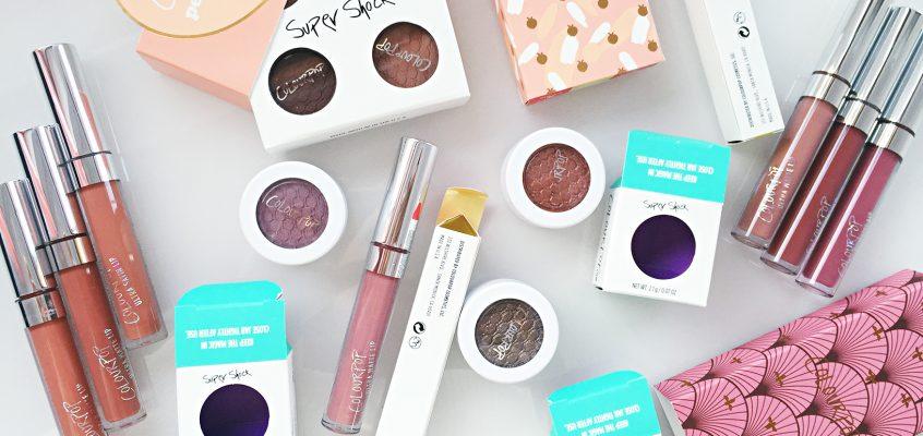 a POP of colour! Доставка от ColourPop Cosmetics pt.1