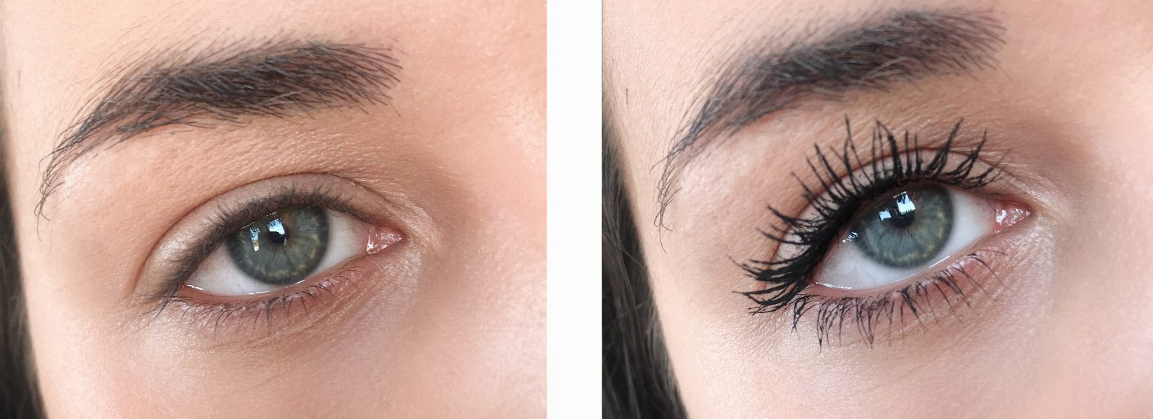 Clarins Supra Volume Mascara before & after