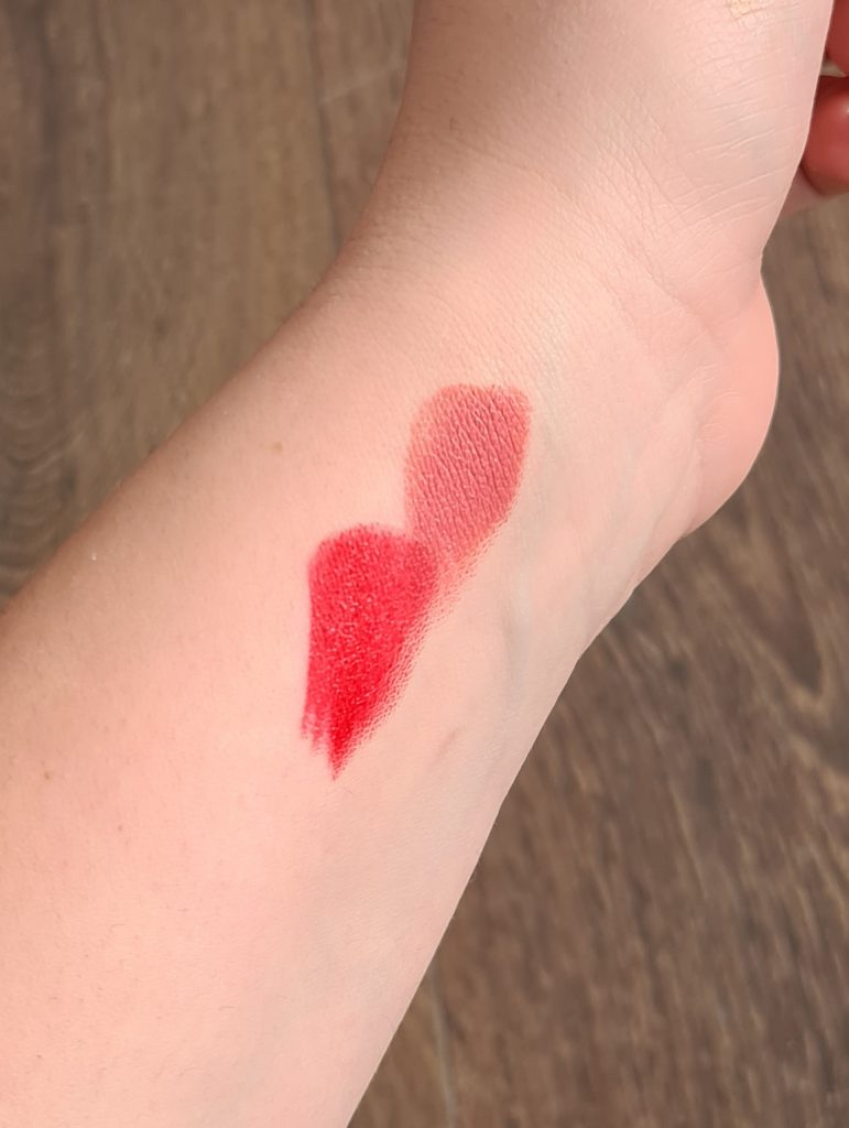 Jimmy Choo Seduction lipstick swatch